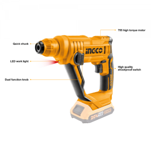 Lithium-Ion Rotary Hammer
