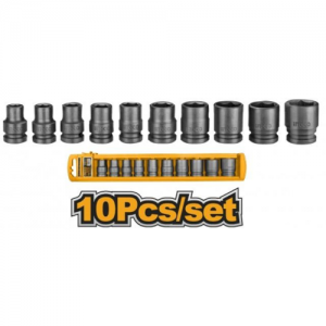 10PCS 1/2 Impact Socket Set